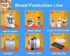 セリウムISO 9001の製造業者が付いている産業パン屋のパンの生産ライン