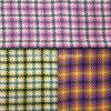 Шинель ткани Twill и шерстей проверки