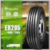 fabricante chino del neumático del neumático del acoplado de 11r22.5 TBR todo el neumático de acero del carro con término de garantía