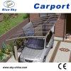 Car Port를 위한 높은 Quality Aluminum Frame Glass Car Garage