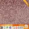60x60cm Porcelanto metálico de pared de cristal rojo mosaico (JLS052)