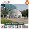 Transparent tente dôme géodésique utilisée pour les événements extérieurs