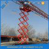Table élévatrice hydraulique de ciseaux de travail