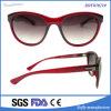 Пластичное Ladies Flat Mirror Fashion Sunglasses с PC Injection