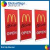 Les bannières d'affichage de Changhaï Globalsign, enroulent des bannières