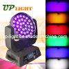 RGBWA +UV LEIDEN van het Gezoem 36*18W 6in1 Bewegend Hoofd voor Disco