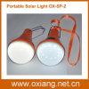 Éclairage d'éclairage solaire portable d'urgence de lampe de poche d'éclairage