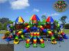 Kaiqiのセットされる大きい虹の森林テーマの子供の運動場(KQ50034B)