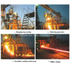 60X60~90X90mm Steel Billetのための小さいR3m CCM Continuous Casting Machine