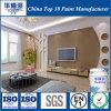 Grieta Hualong Libre de formaldehído resistente a la pared interior satinado pintura