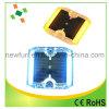 12ПК светодиод мигает 360 градусов пластиковые шпильки дорожного движения солнечной энергии