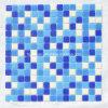 Mozaïek van Withdot van de Kleur van het Mozaïek van het Mozaïek van het Zwembad het Goedkope Blauwe
