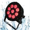 6in1 de Waterdichte IP65 Verlichting van de Disco 9X18W Rgbawuv
