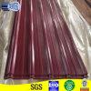 Vinho de 0,45mm RAL3005 folha de metal vermelhos