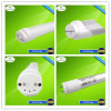 Installation facile 25W Clear Cover 1.5m DEL Tube Lighting T8 avec Rotating Extrémité Cap