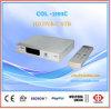 Récepteur de signal du boïtier unique contenant les codeurs et les avertisseurs TV de Col2193c HD DVB-C