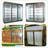 Refrigerador / refrigerador de la exhibición de la puerta de cristal