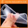 0.3mm Ultra Thin Clear Crystal Transparent Soft TPU Caso para o iPhone 6