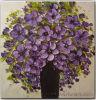 Modern Olieverfschilderij Flower op Canvas (FL1-057)