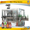 Máquina automática del llenador de la cerveza de la botella de cristal