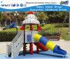Rocket-Merkmals-Hinterhof-Spiel-Geräten-im Freienspielplatz Hf-14302
