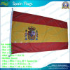 90X180cm 120GSM Knitted Polyester Espagne Flag (NF05F06011)