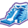 喝采の娯楽海洋のテーマの子供膨脹可能な水スライドの娯楽装置