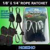 Ganci registrabili del cricco della corda, ganci 1/4  & 1/8  del yo-yo del riflettore