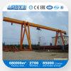 Kuangyuan Marken-einzelner Träger-Feuergebührenportalkran mit elektrischer Hebevorrichtung im äußeren Lager