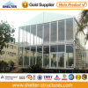 Rental Event를 위한 Two Story와 Glass Wall System를 가진 25X60m Luxury Double 갑판 Event Marquee Tent