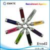 Cigarrillo vendedor caliente de Clearomizer E, T3d Cartomizer, atomizador Evod2
