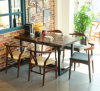 Restaurant European-Style Furniture, Cafe Tables et Chairs, Ash Wood Chairs, Restaurant classieux Chairs