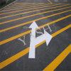 Краска маркировки дороги желтой обочины безопасная термопластиковая