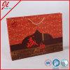 Rote Einkaufen-Papiertüten, die Beutel für Mookcake verpacken