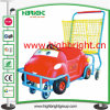 Carrinho de compras de brinquedos de plástico para crianças e crianças