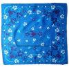 OEMの農産物はロゴによって印刷された昇進広告綿の正方形のバンダナをカスタマイズした