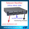 DC Load를 위한 220VAC 48VDC 100A Rectifier System