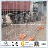 IMMERSION chaude galvanisant la frontière de sécurité provisoire soudée de treillis métallique