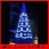 معدن إطار [لد] إنارة عملاقة عملاقة عيد ميلاد المسيح زخرفة شجرة