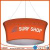 Модная коммерчески краска Sublimathion рекламируя знамя потолка вися