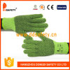 Ddsafety 2017 Poids Lourd tricot chaîne verte avec des gants en PVC noir