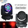 Träger-bewegliches Hauptlicht der LED-Summen-Wäsche-19PCS*12W RGBW 4in1 LED