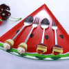 스테인리스 케이크는 Polyresin 손잡이 칼붙이 세트를 형성했다