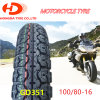 Llanta De Motocicleta Motorcycle zerteilt chinesischen preiswerten schlauchlosen Motorrad-Gummireifen/Reifen 100/80-16