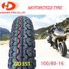 La moto partie le pneu de moto/pneu sans chambre bon marché chinois 100/80-16