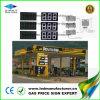 Tótem de 8 pulgadas de la estación de Gas Precio Signo de LED CREE blanco