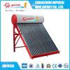 Baixa pressão interna do tubo de vácuo do aquecedor de água solares 100L