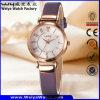 Orologio casuale delle signore del regalo della cinghia di cuoio di modo del ODM (Wy-093D)