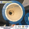 Tubo de acero revestido de cerámica resistente al desgaste para protección contra el desgaste