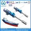 Pompe submergée électrique marine d'huile lubrifiante pour le pétrolier